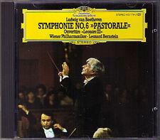 Leonard BERNSTEIN: BEETHOVEN Symphony No.6 Leonore CD 1981 Wiener Philharmoniker