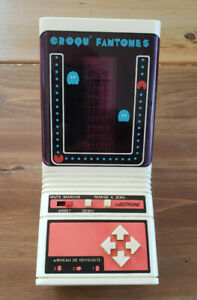 1982 Croqu' Fantomes LUDOTRONIC Pack'n maze Hanzawa TBE table top no game watch