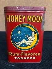 Honey Moon Rum-Flavored Tobacco Tin