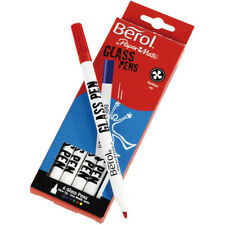 Berol Art  - 6 Pack Glass Pens (assorted colours) - Art Gift Sets for Kids