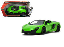 McLaren 650S Spider Green 1/24 Scale Diecast Car Model By Motor Max 79326