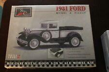 SPEC CAST MODEL KIT 1931 Model A FORD Pickup  Die Cast Metal 1:25 Skill Level 2