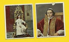 Papst Pius X and Papst Pius VII Fab Card Collection