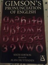 Gimson's Pronunciation of English Cruttenden, Alan (Author)