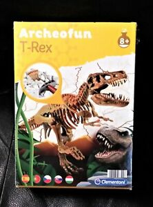 Clementoni Archeofun T-Rex Dinosaur Skeleton Kit New Sealed