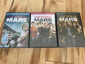 Veronica Mars DVD Complete Seasons 1-3 New in Shrink