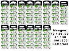 Camelion AG0 - AG13 Uhrenbatterien Alkaline 1,5 V 0% - HG Uhren Batterien