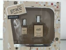 Pure Grace Nude Rose by Philosophy 2 Piece Gift Set New In Box