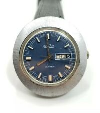 Great Vintage Mens Vulcain Stainless Steel 17 Jewels Mid Centry Wrist Watch