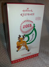 Hallmark Keepsake 2015 Star Slugger Personalized Baseball Softball Ornament