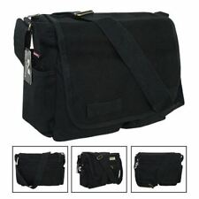 Classic Army Military Messenger Heavyweight Field Canvas Shoulder Laptop Bag Bag