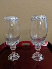 2-pcs Bling Wedding Centerpieces Vases Crystal Table Decorations Decor