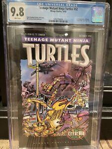 Teenage Mutant Ninja Turtles 52 Cgc 9.8 First Appearance Karai Key 1st App Tmnt