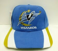 WASHINGTON WIZARDS NBA BASKETBALL 90'S VINTAGE SNAPBACK HAT CAP NEW
