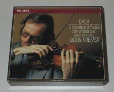 2 CD BOX/GIDON KREMER/BACH/3 SONATE E 3 PARTIE PER VIOLINO SOLO/Philips 416651-2