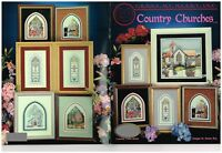 COUNTRY CHURCHES  -   CROSS STITCH LEAFLET