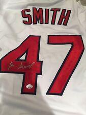 LEE SMITH Signed ST. LOUIS CARDINALS #47 Jersey AUTO Autograph JSA COA