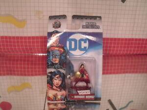 WONDER WOMAN (DC4) DC Nano Metalfigs 2in Die-Cast Metal Figure Jada carded