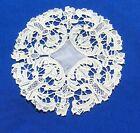 +Antique++Handmade+Point+de+Venice+Needle+Lace+Doily+Coaster