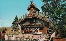 1970s USA Postcard - Worlds Largest Cuckoo Clock, Wilmot, Ohio