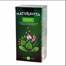 Naturavita UVIN H tea 30g bags urinary inflammation Prevention Croatia Bearberry