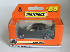 MATCHBOX (1998) #69 BMW 3 SERIES 328i SALOON RARE GERMAN IN METALLIC GREEN MIB