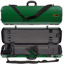 Galaxy Zenith 500Sl Oblong Green Violin Case - Authorized Dealer!