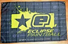 New Planet Eclipse Neon Logo Banner Cloth Dealer Wall Hanging Paintball Promo Ad