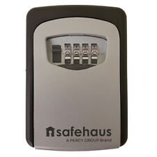 Safehaus KS102G Key Safe Box Waterproof Combination Lock Security Wall Mounted