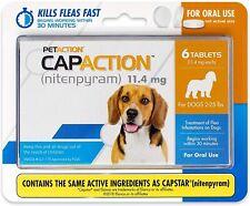 Capaction Oral Flea for Dogs Medication Medicine Pills Flea Treatment Small Dog