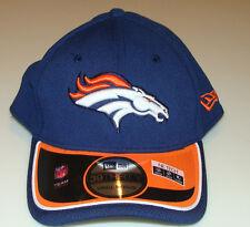 New Era Hat Cap NFL Football Denver Broncos Reverse 39THIRTY S/M Flex Fit