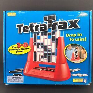 Tetra Trax 3D Educational Strategy Jigsaw Game Tetratrax Complete