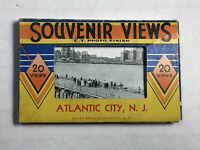 Vintage  Souvenir Photos 20 views Atlantic City NJ