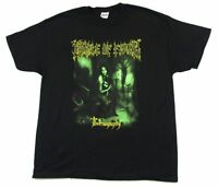 Cradle Of Filth Thornography 2007 Tour Black T Shirt New Official Tournography