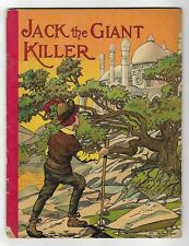 Antique JACK THE GIANT KILLER Children's Fairy Tales McLOUGHLIN BROS Tom Thumb