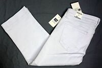 NWT $79 Kut from the Kloth  Natalie Capri Crop Pants Womens Whte NEW