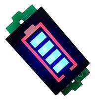 Batería De Litio Indicador De Capacidad Módulo Pantalla Azul Probador De En Y2V2