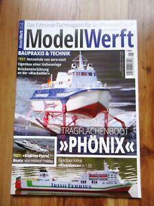 Modellwerft Zeitschrift/Magazin Jahrgang 2020 Heft 1 bis 12