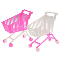 1pcs Children's Toys Mini Shopping Cart Toy Doll Accessories Gifts For Kids hlFS
