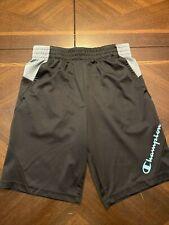 Champion Boys Athletic Shorts Size Youth Medium (M) Black/grey