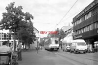 PHOTO  GERMANY TRAM 1986 K-FRECHEN RATHAUS TRAM NO 2030 ON ROUTE 2