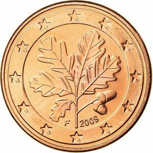 [#754509] République fédérale allemande, 5 Euro Cent, 2009, FDC, Copper Plated S
