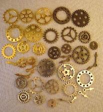 50 Steampunk ingranaggi e ingranaggi in metallo misto formati da 25 mm