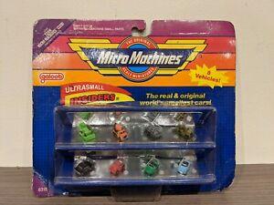 GALOOB Micro Machines Ultrasmall Insiders #6318 Toy Car Ultra Small