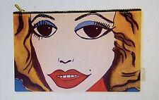 Retro Warhol Marilyn Monroe COOL style pouch purse tote 6.5 x 9  fabric zipper