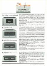 Accuphase catalogue prospectus catalogue Datasheet brochure de (5)