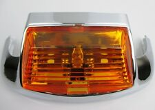 Front OE Style Fender Tip with Light, Amber for Harley FL Models