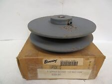 NEW BROWNING 1 GROOVE SHEAVE PULLEY 1VP50 X 1/2 1VP50X1/2
