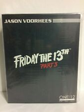 NEW MISB Mezco ONE:12 Jason Voorhees 6in Action Figure Friday The 13th Part 3