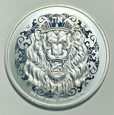 2021 Niue 2 Dollars Roaring Lion Judah Silver Extremely Rare - In Stock In Hand